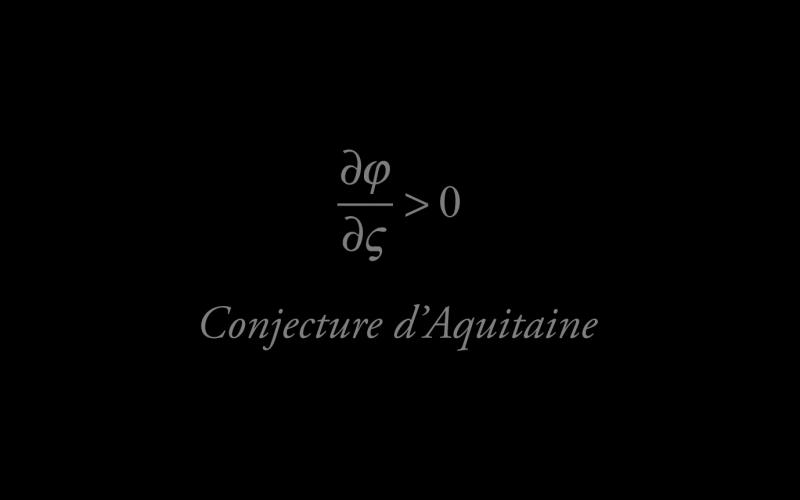 Négatif-Conjecture d'Aquitaine 3